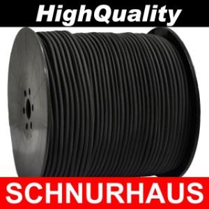 Gummiseil Pkw-Anhänger Ersatzteile 10m Monoflex Expanderseil ø 10mm schwarz